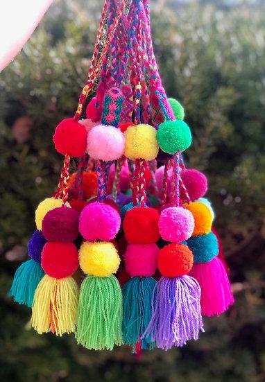 Wool Pom Pom Tassel