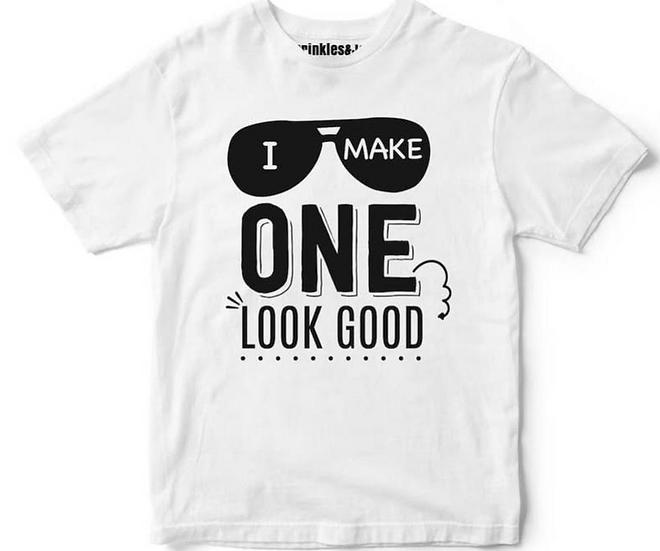 I Make One Look Good Kids Tee