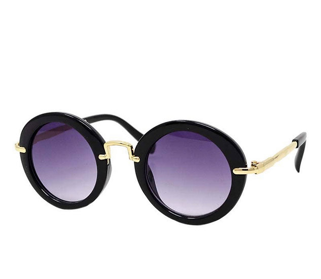 Kids Round Retro Sunglasses
