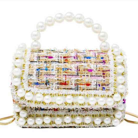 Kid's Pearl Handbag