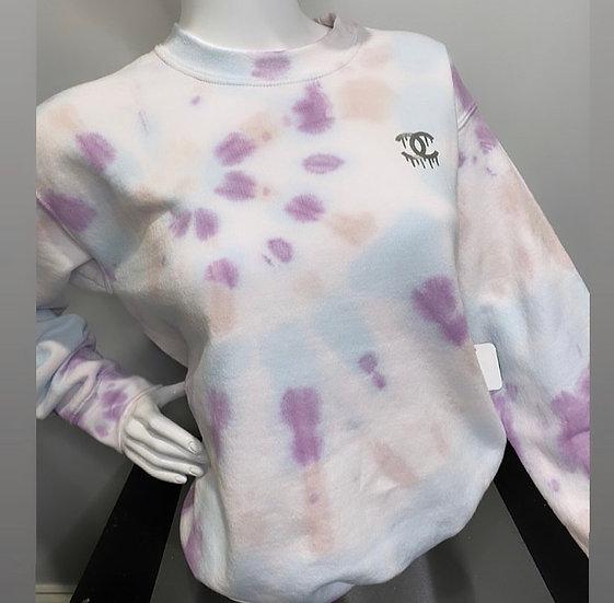 Spring CC Tie Dye Sweatshirt
