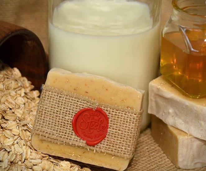 Goatmeal Honey Soap