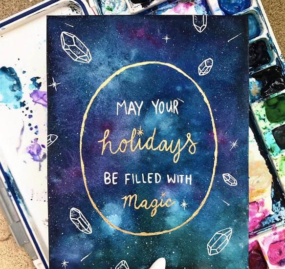 Magic Holiday Card