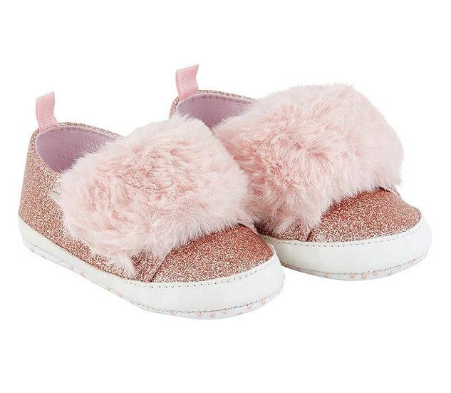 Pink Fur Shoe