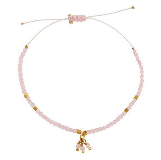 Chemistry Bracelet - Rose Quartz