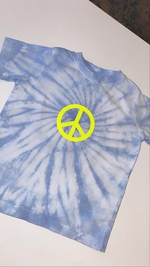 Kids Peace Tie Dye Tee