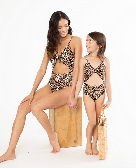 Cheetah Mommy & Me Adult