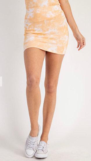 Tie Dye Skirt (Bodysuit Sold Separately)