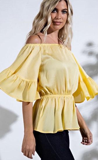 Lemonade  Off-The-Shoulder Blouse