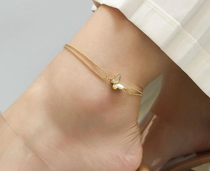 Ankle Bracelet (Stemless Steel)