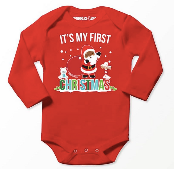 First Christmas Onesie
