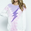 Thumbnail: Tie Dye Lightning Sweatshirt