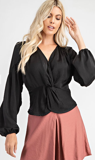 Front Knot Blouse