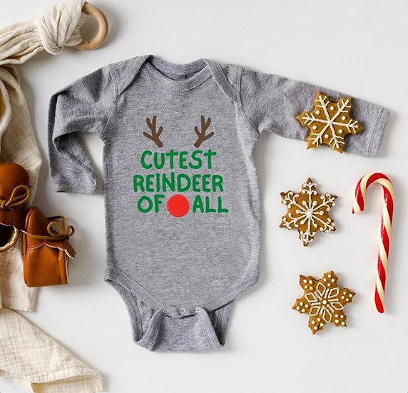 Cutest reindeer of all bodysuit