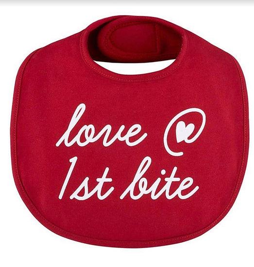 Love at 1st Bite Bib