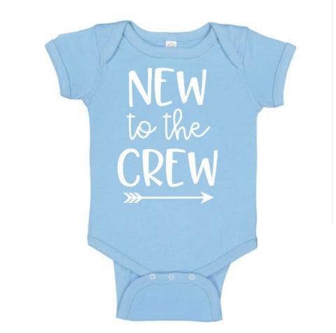 New To The Crew Onesie