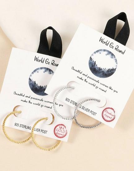 World Go Round Earrings