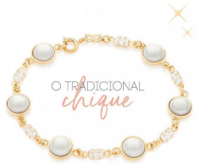 Pear Bracelet with Zirconia