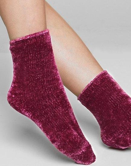 Luxury plush soft chenille socks