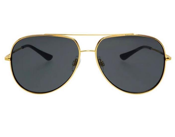Max Sunglasses (Gold Rim)