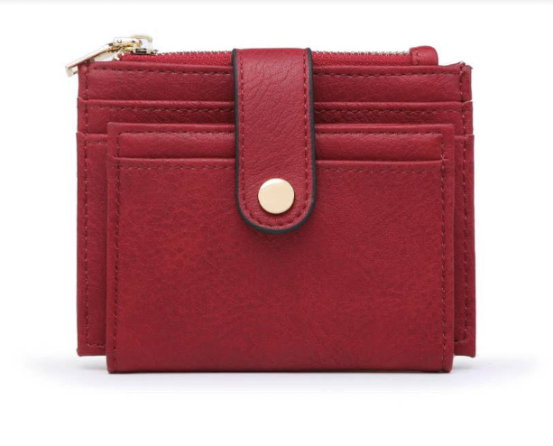 Wallet Card Holder Red