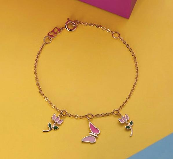 Kid's Flower Bracelet