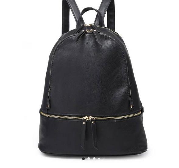 Tripe Zip Pocket Backpack