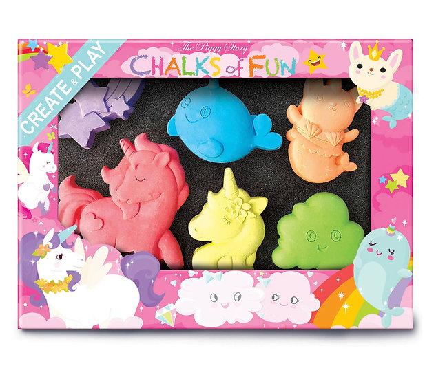 Eco friendly Unicorn Chalk Box