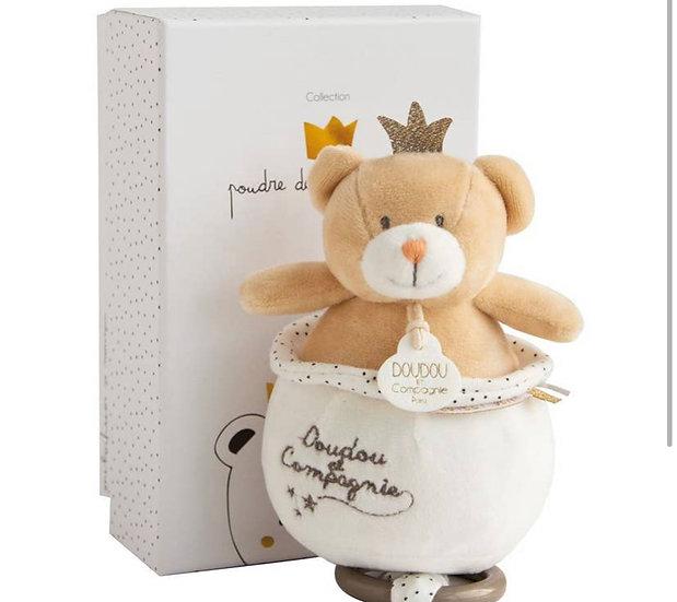 King Bear Plush. Musical Box