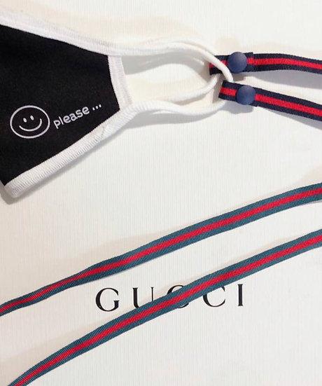 Designer style mask strap