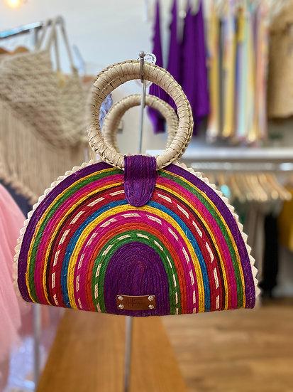 Large Purple Quesadilla Bag