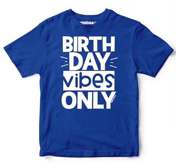 Birthday Vibes Kids Tee