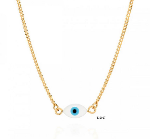 Evil Eye Adjustable Necklace