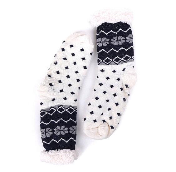 Sherpa lining Slipper Socks