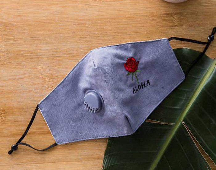 Aloha Rose Face Mask