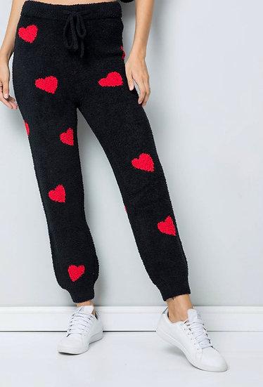 Cozy Heart Lounge Pants