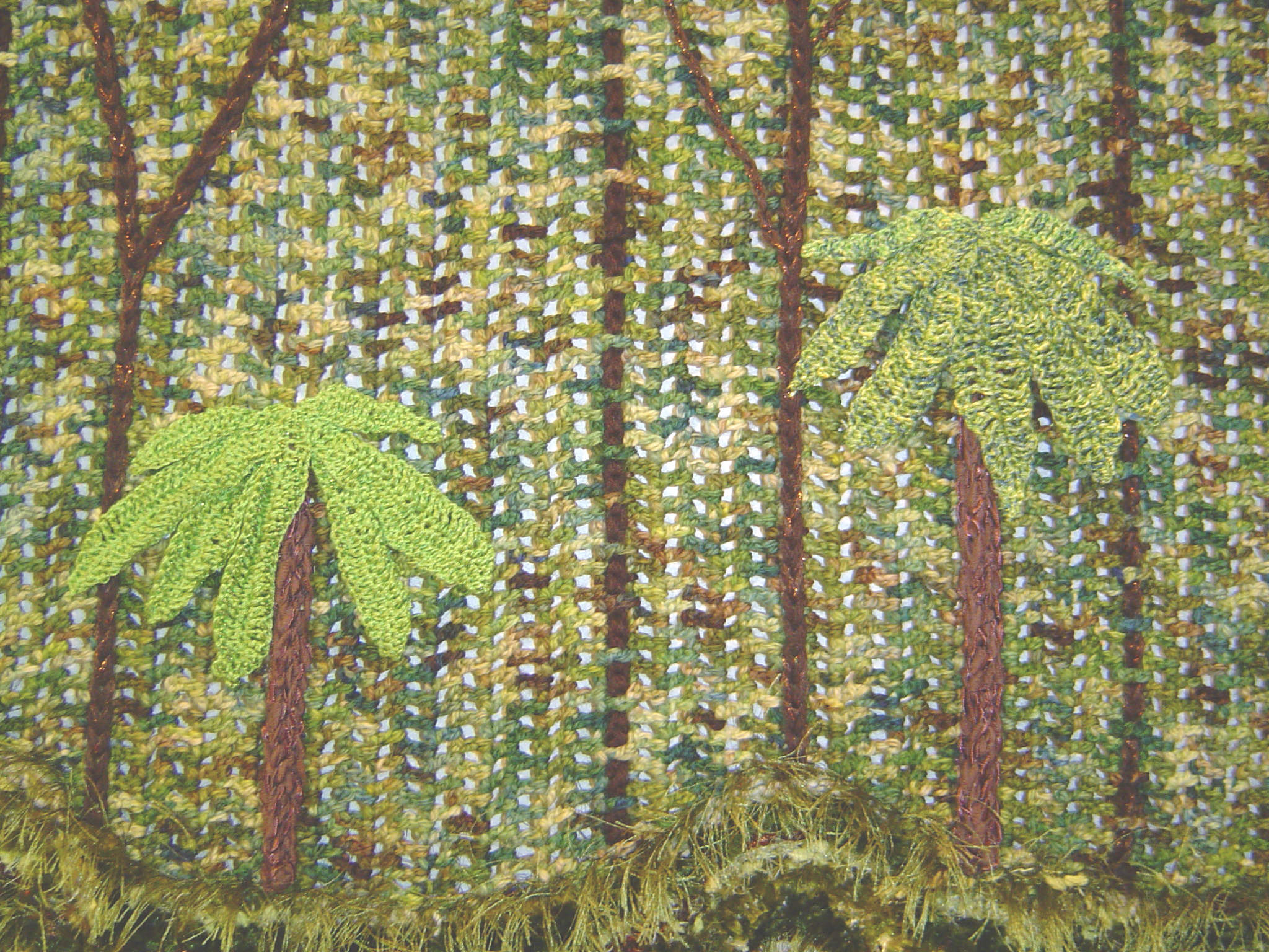 Ferns of the Forest Detail