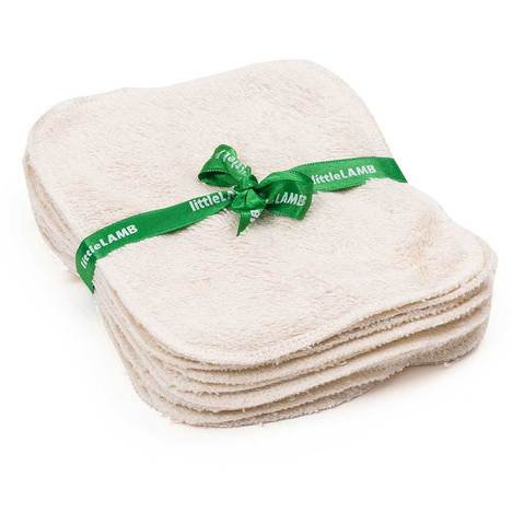 Little Lamb Washable Wipes in Organic Cotton
