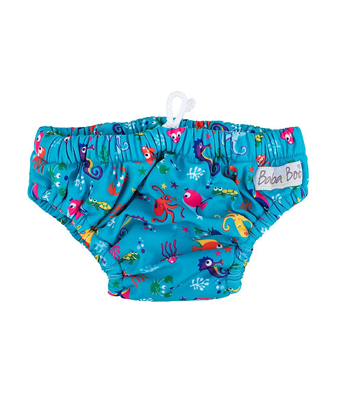 Baba + Boo Under the Sea Reusable Swimming Nappy