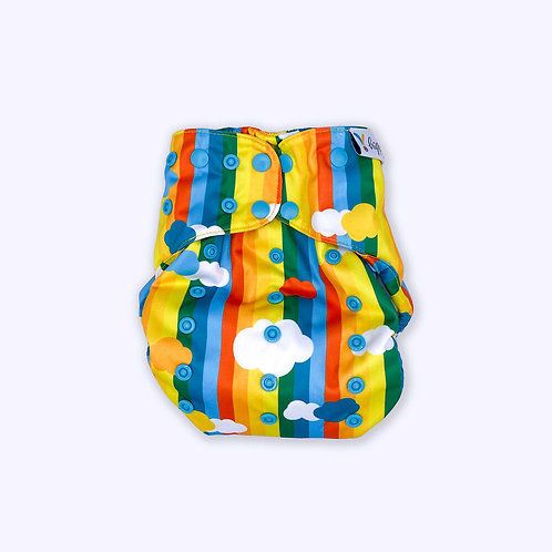 Hippynut Nutshell Wrap/All in two nappy