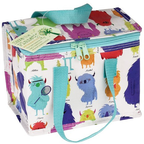 Monsters of The World Lunch Bag
