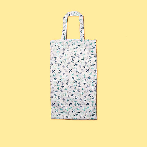 Wall Nut - Extra Large Nappy Pail Wet Bag - Cloudy