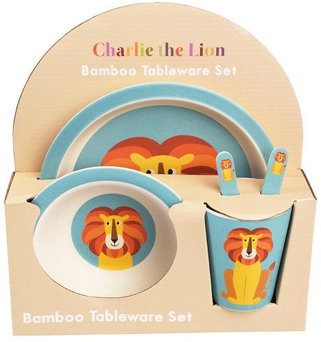 Charlie Lion Eco Friendly Tableware