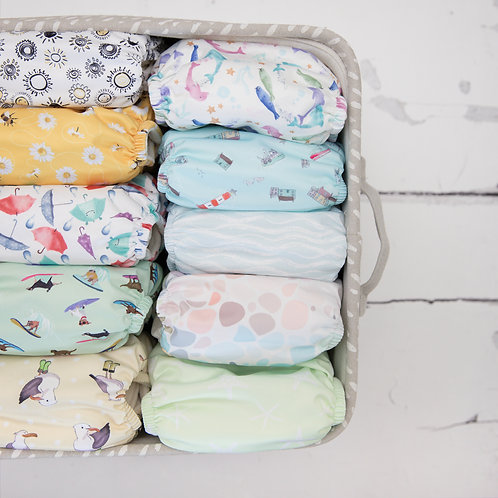 Baba + Boo Newborn Bundle of 10 Nappies