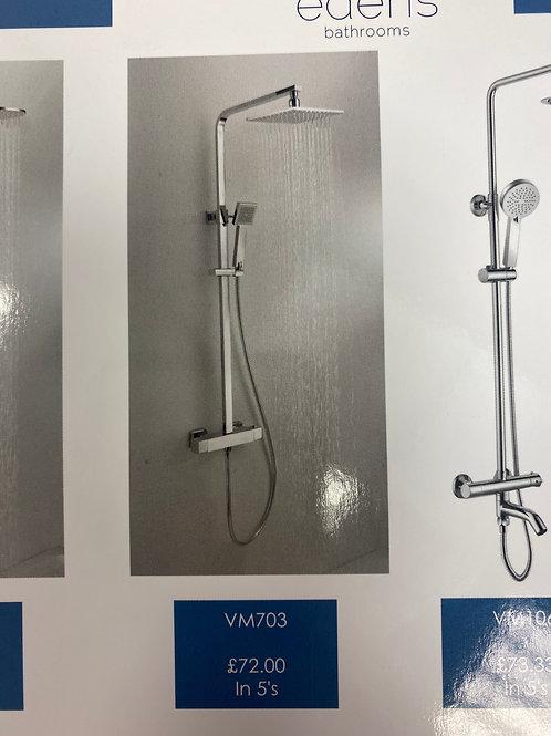 Square Dual Shower VM703