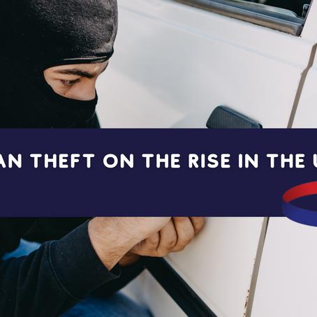 30 Vans being stolen every day - Van Theft Increasing In The UK