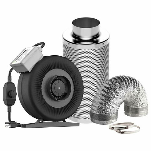 cannabis cultivation - picture of a carbon filter