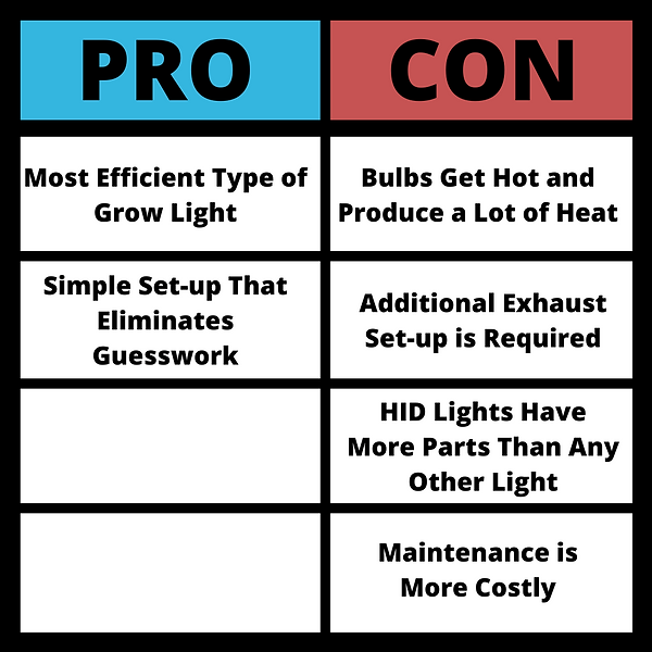 HID Lights Pros and Cons