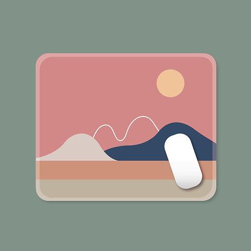 Minimalist Sunrise/ Sunset Mouse Pad
