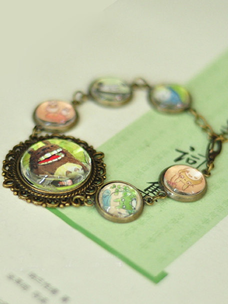 Totoro Hayao Miyazaki Collection Bracelet